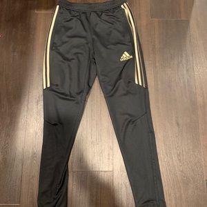 Black adidas Climacool joggers